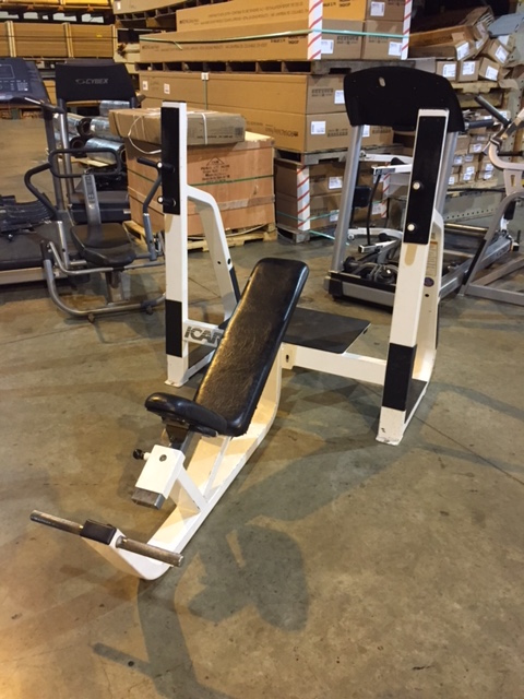 Midwest Used Fitness Equipment Precor Icarian Olympic Incline Bench Press 410